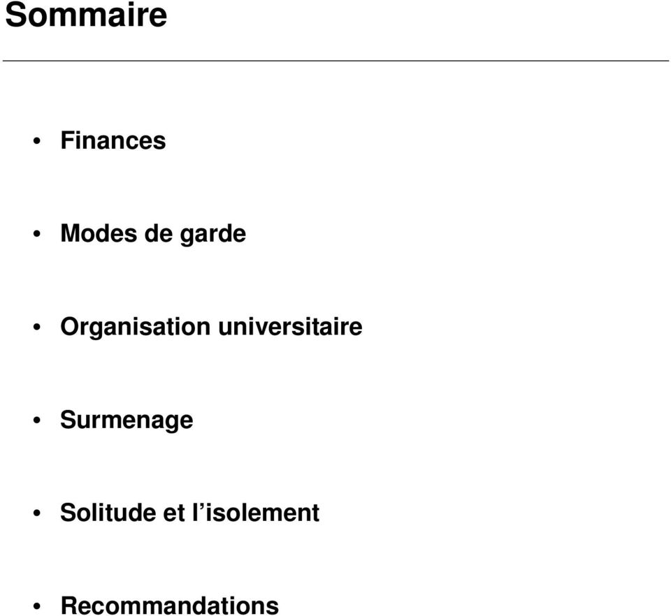 universitaire Surmenage