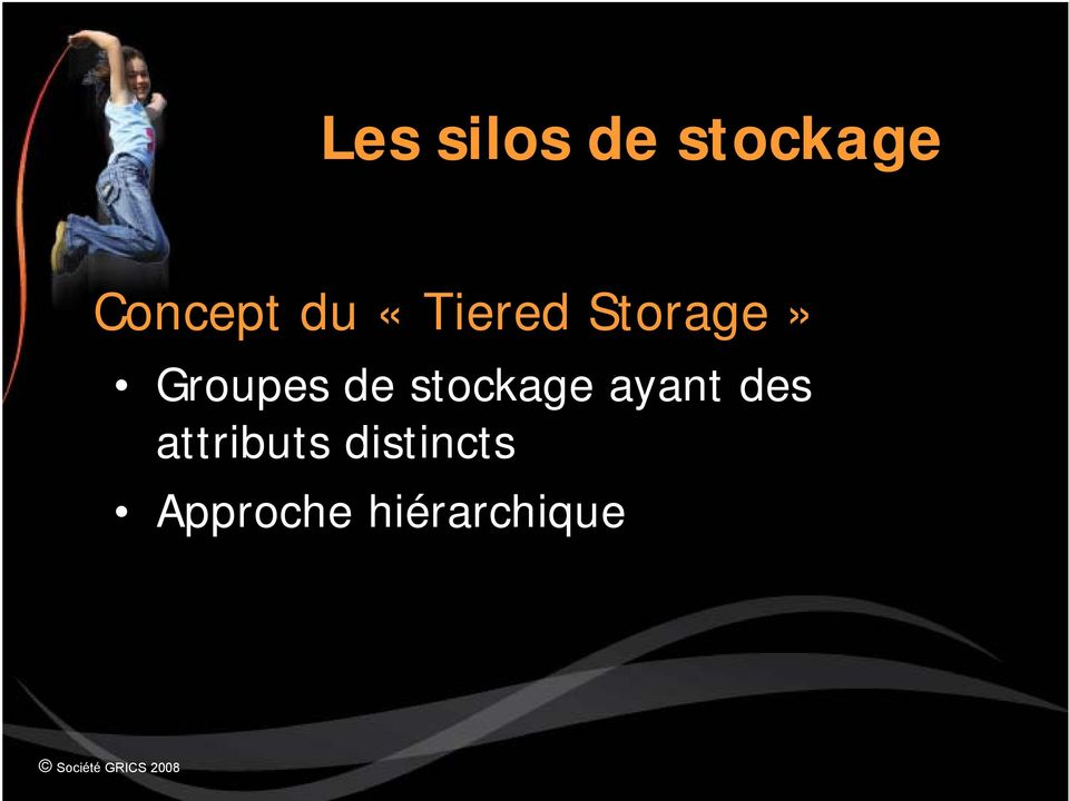 stockage ayant des attributs