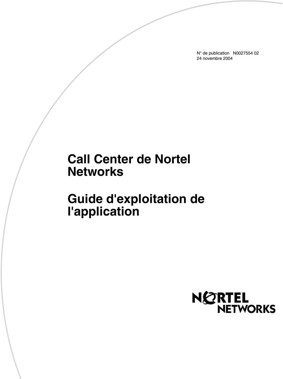 de Nortel Networks Guide