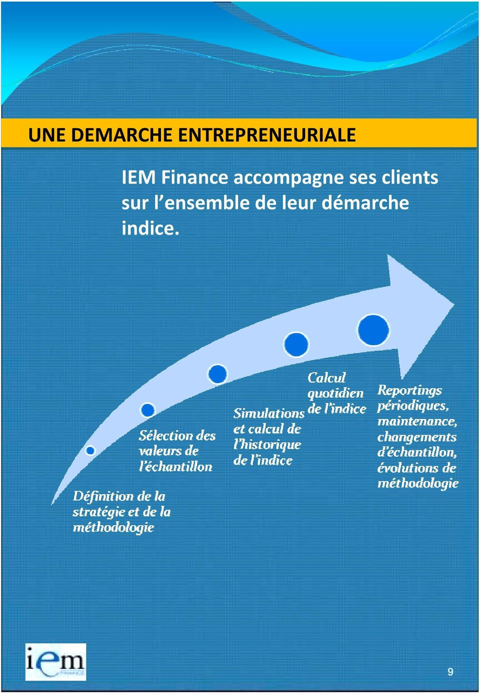 Finance accompagne ses