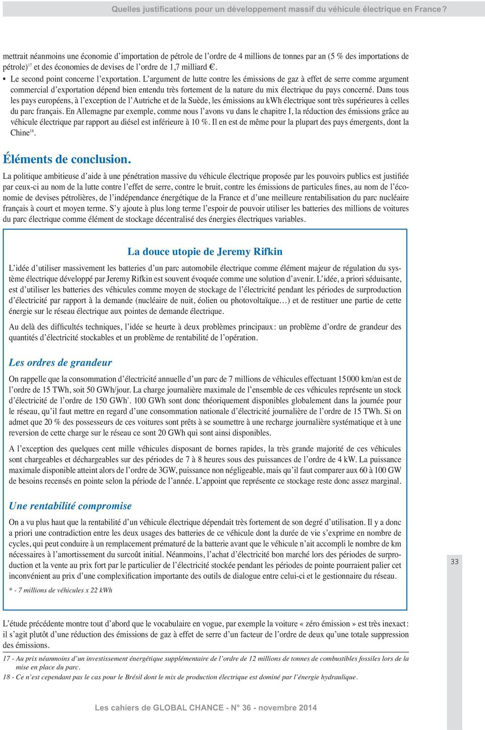 Le second point concerne l exportation.