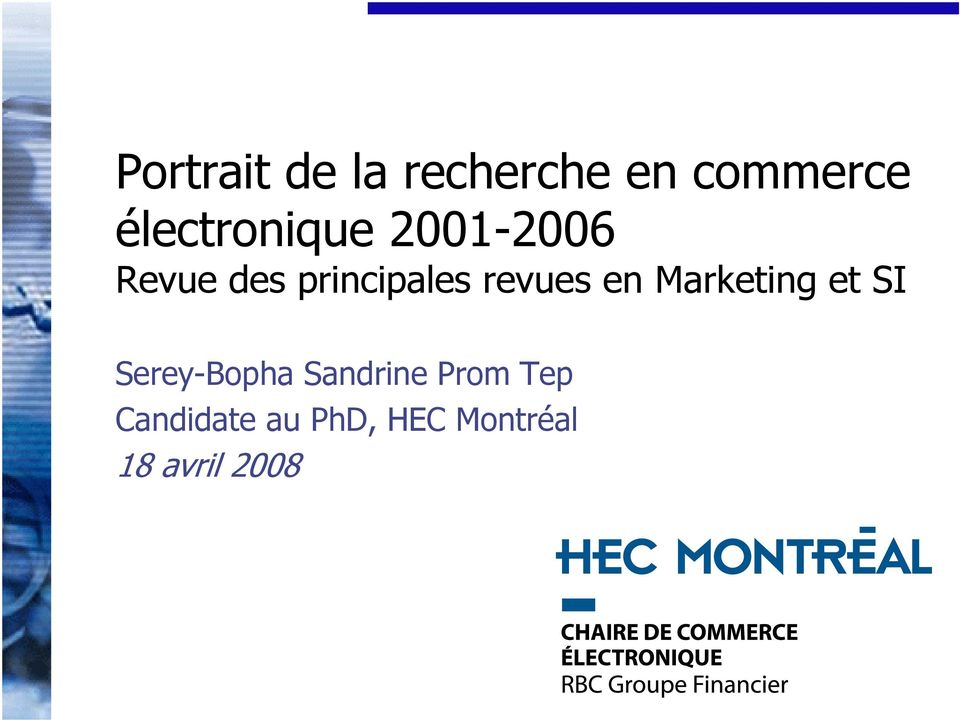 revues en Marketing et SI Serey-Bopha