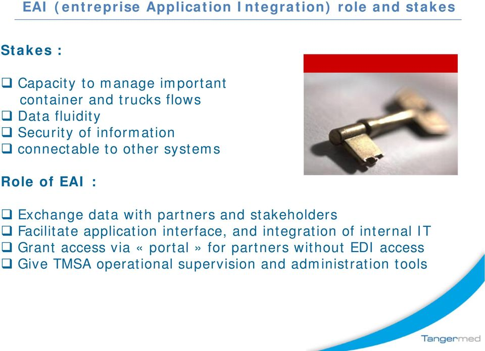 data with partners and stakeholders Facilitate application interface, and integration of internal IT Grant