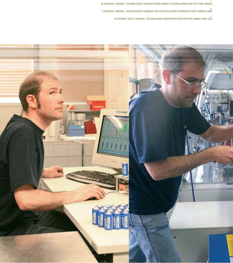 À ROSSENS, MAXWELL TECHNOLOGIES FABRIQUE DES ACCUMULATEURS