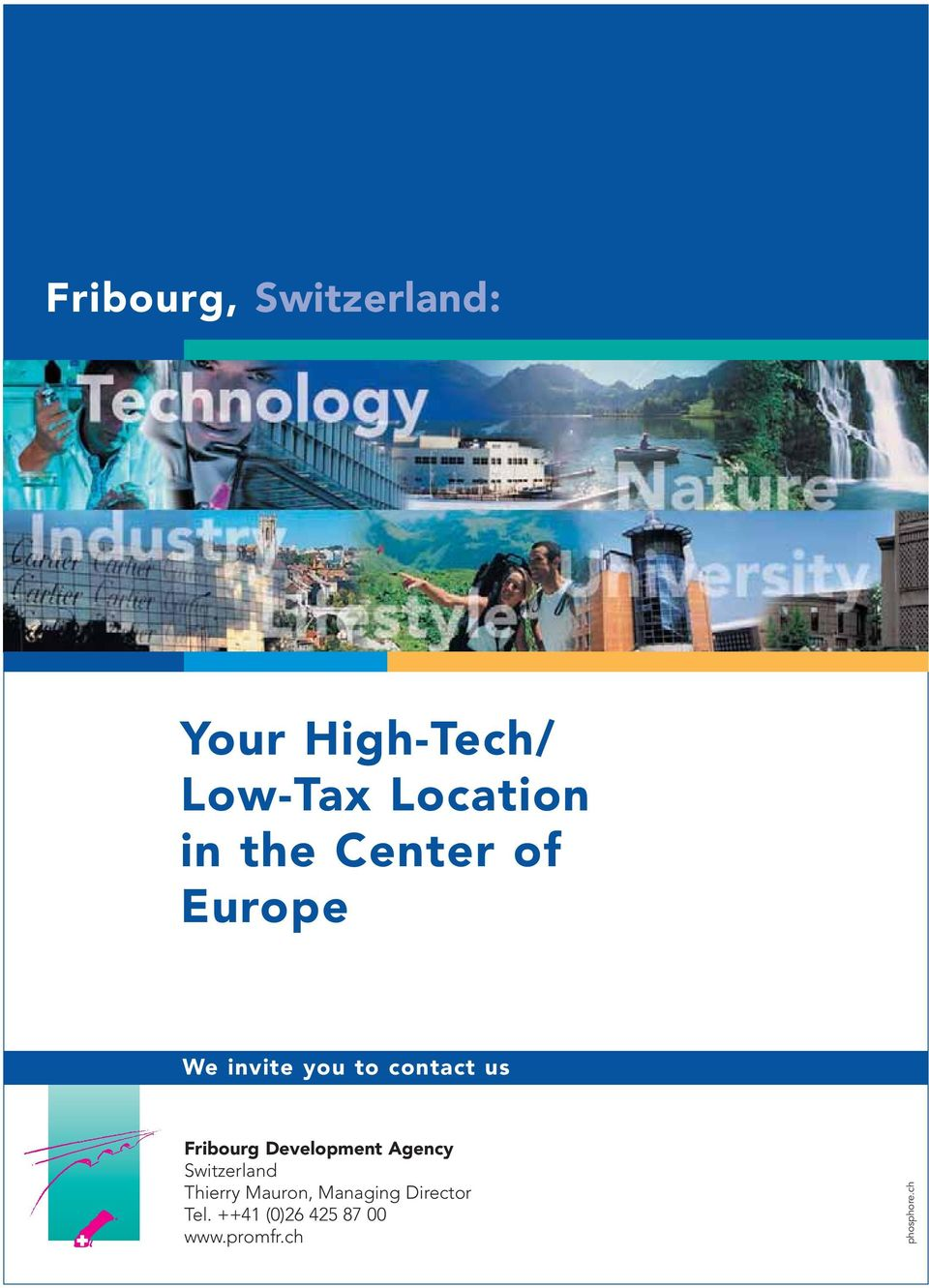 Development Agency Switzerland Thierry Mauron, Managing