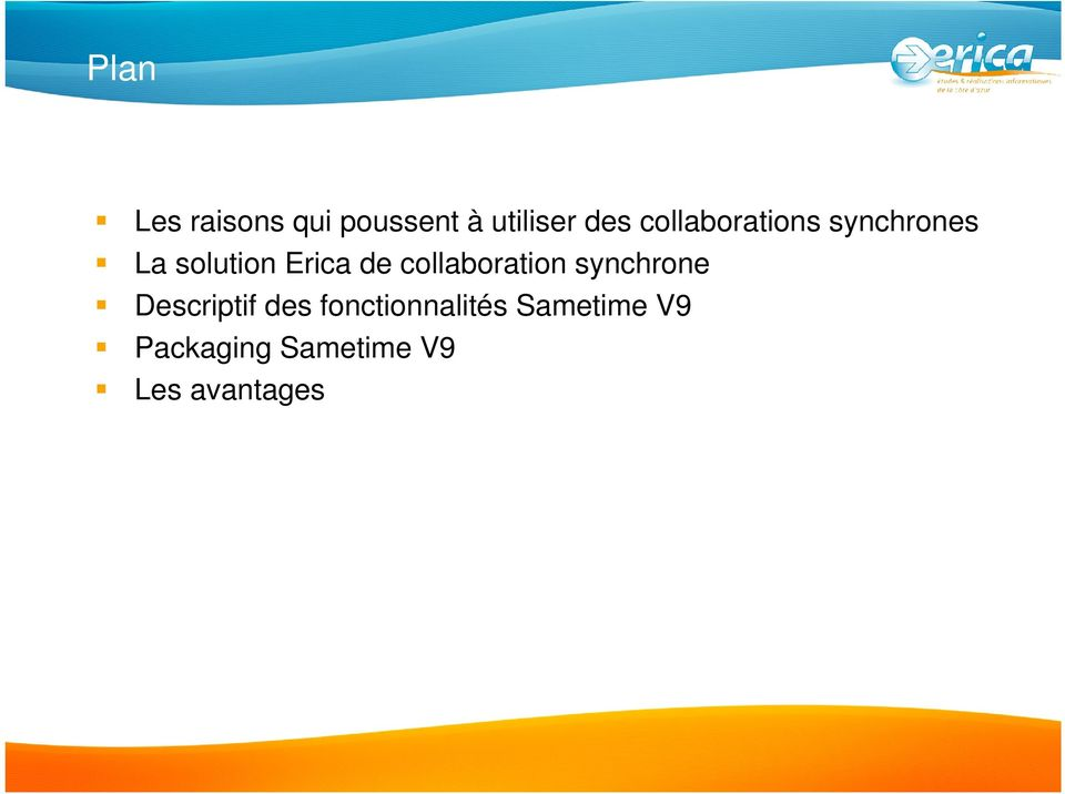 collaboration synchrone Descriptif des