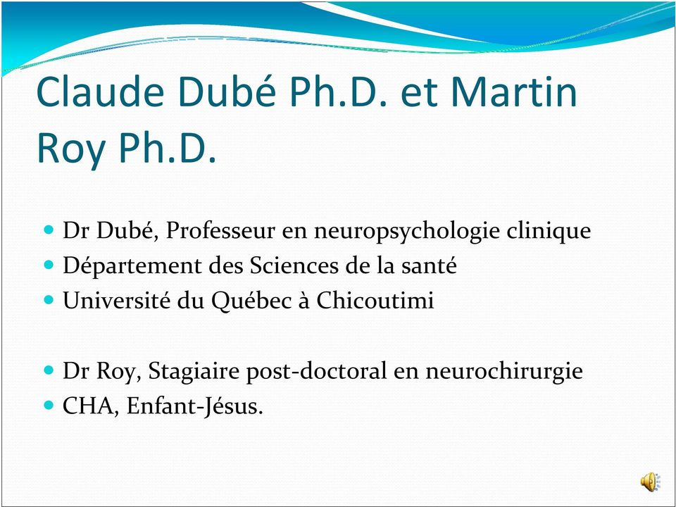 et Martin Roy Ph.D.