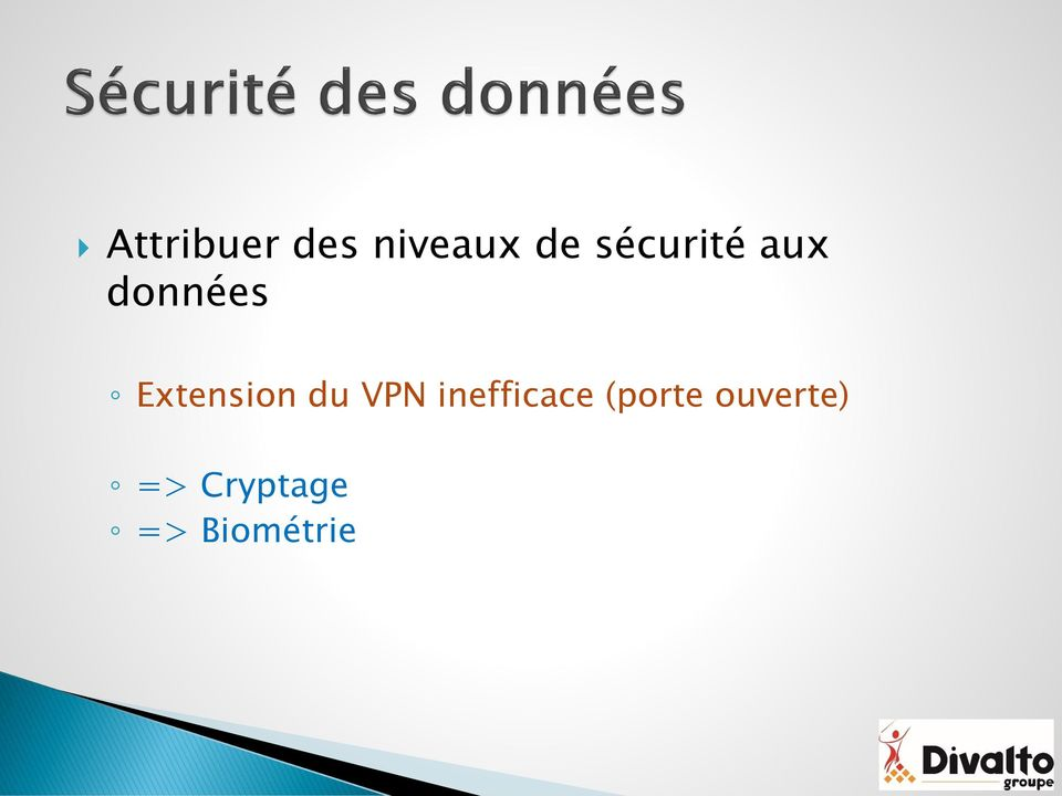 Extension du VPN inefficace