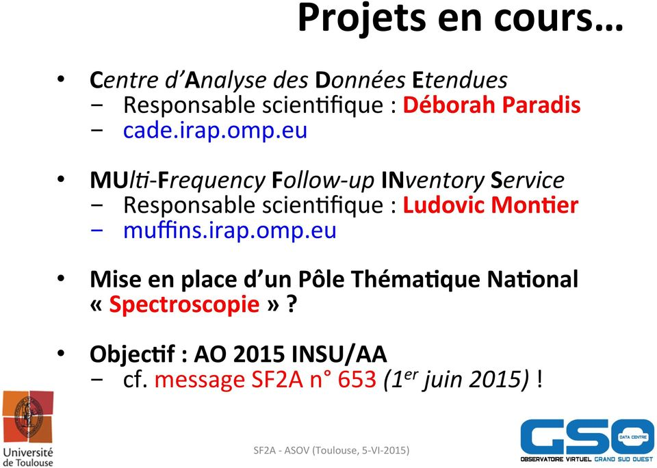 eu MUlG- Frequency Follow- up INventory Service - Responsable scienkfique : Ludovic
