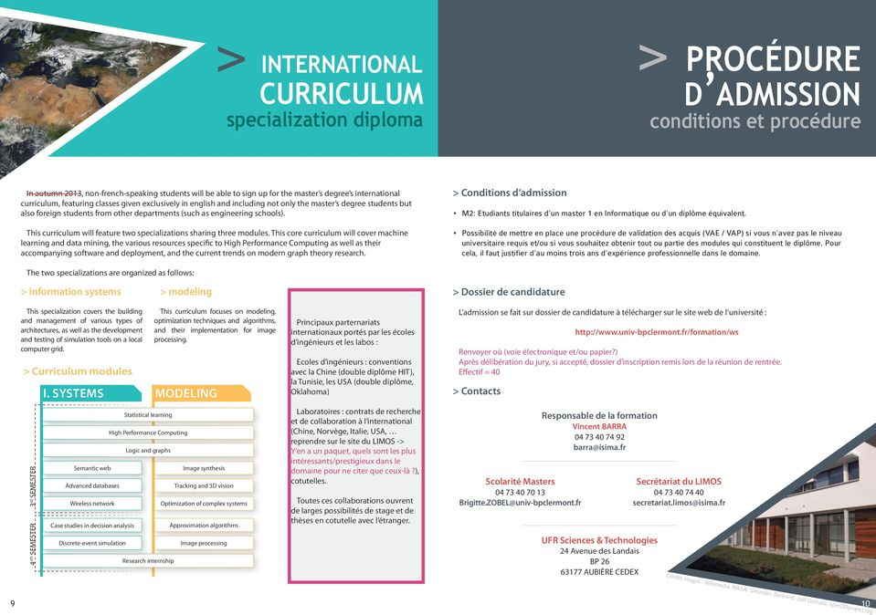 schools). This curriculum will feature two specializations sharing three modules.