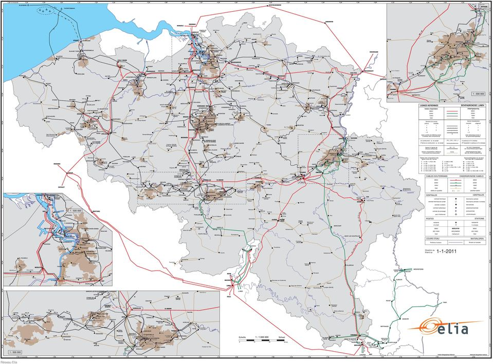 MecklenburgWestern-Pomerania 380 kv planned / under construction 380 / 220 kv Other companies line 380 kv line planned / under construction 380 kv line 220 kv Operating voltage ( kv ) Other companies