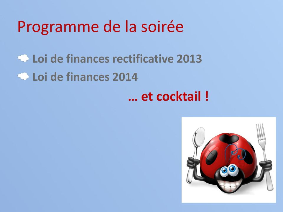 rectificative 2013