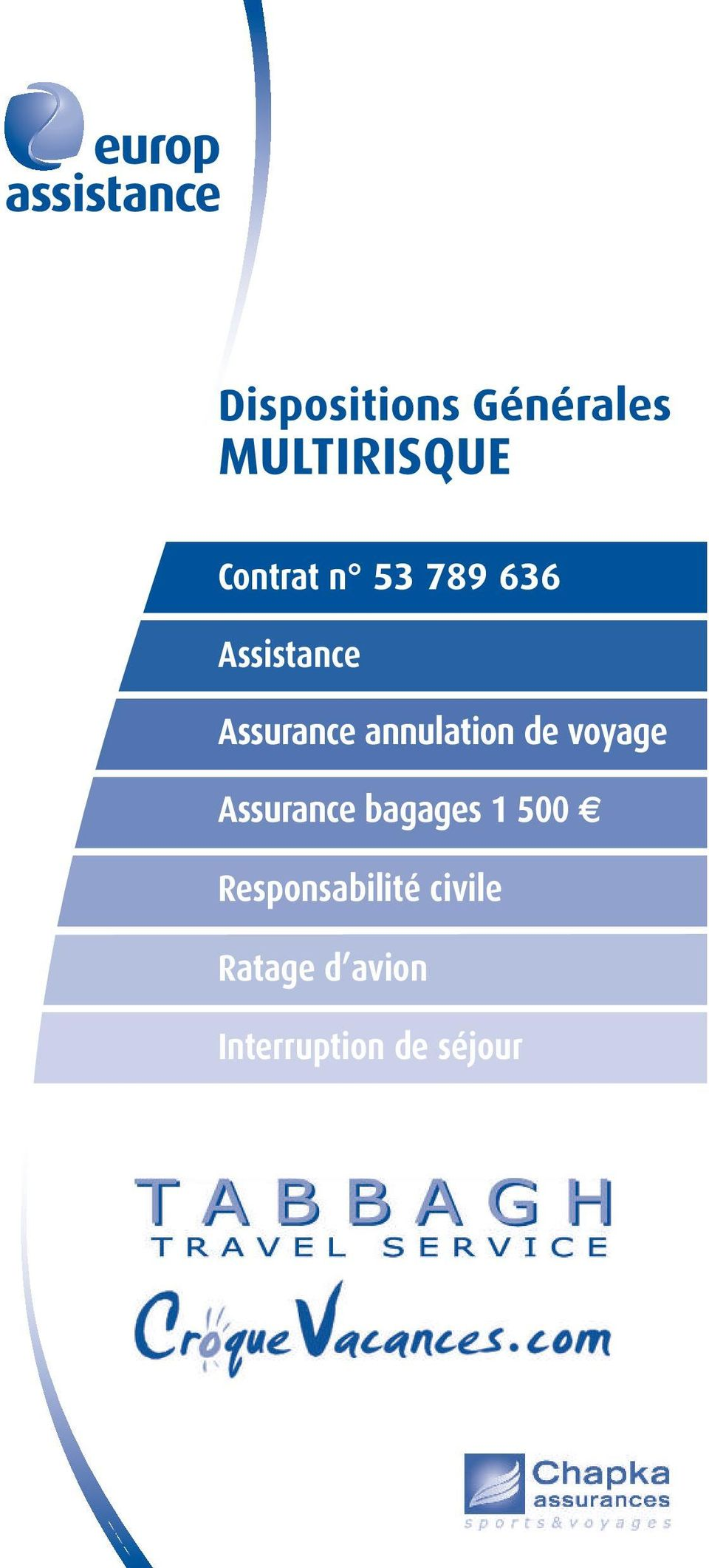 Assurance bagages 1 500