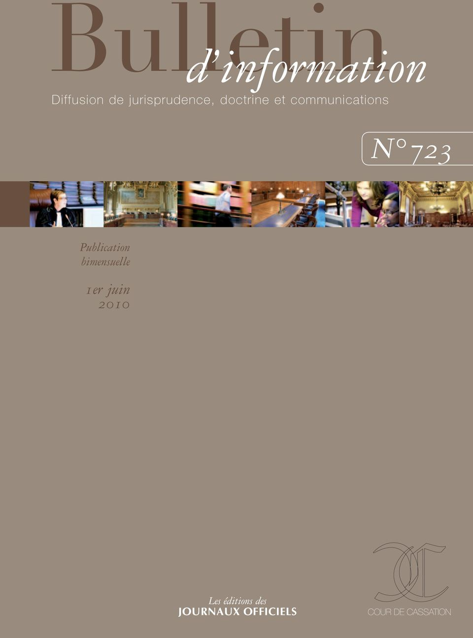 communications N 723 Publication