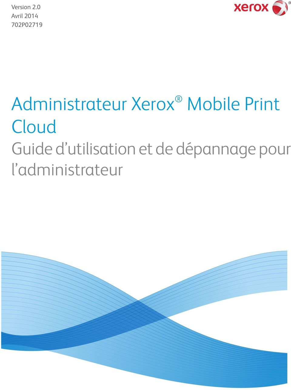 Administrateur Xerox Mobile