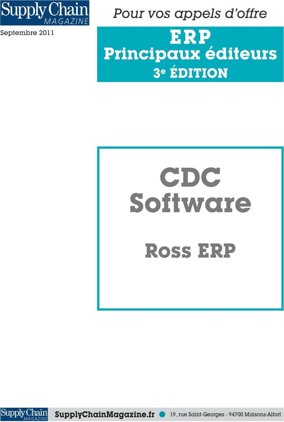 Software Ross ERP SupplyChainMagazine.