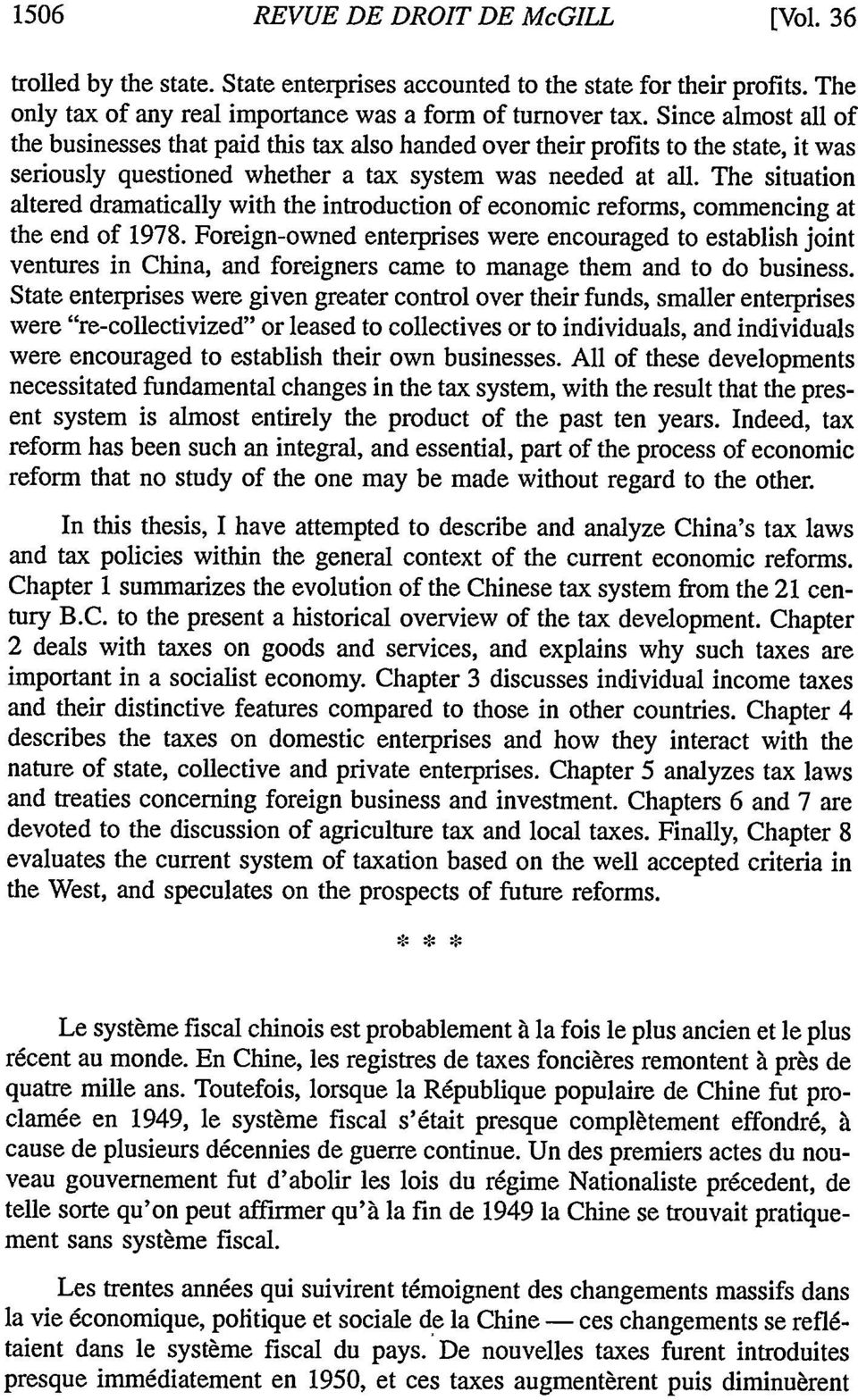 The situation altered dramatically with the introduction of economic reforms, commencing at the end of 1978.