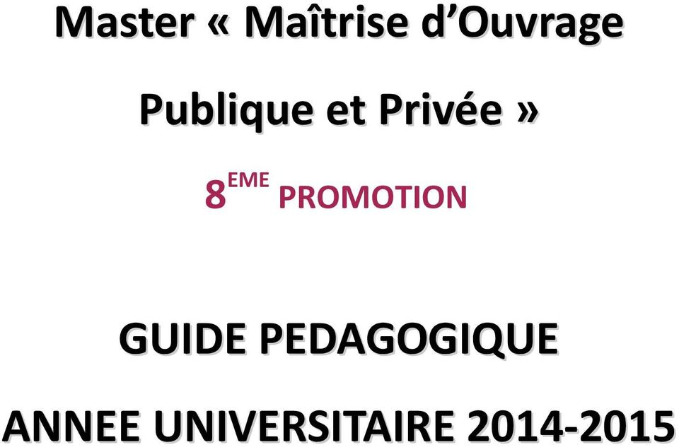 PROOTION GUIDE PEDAGOGIQUE