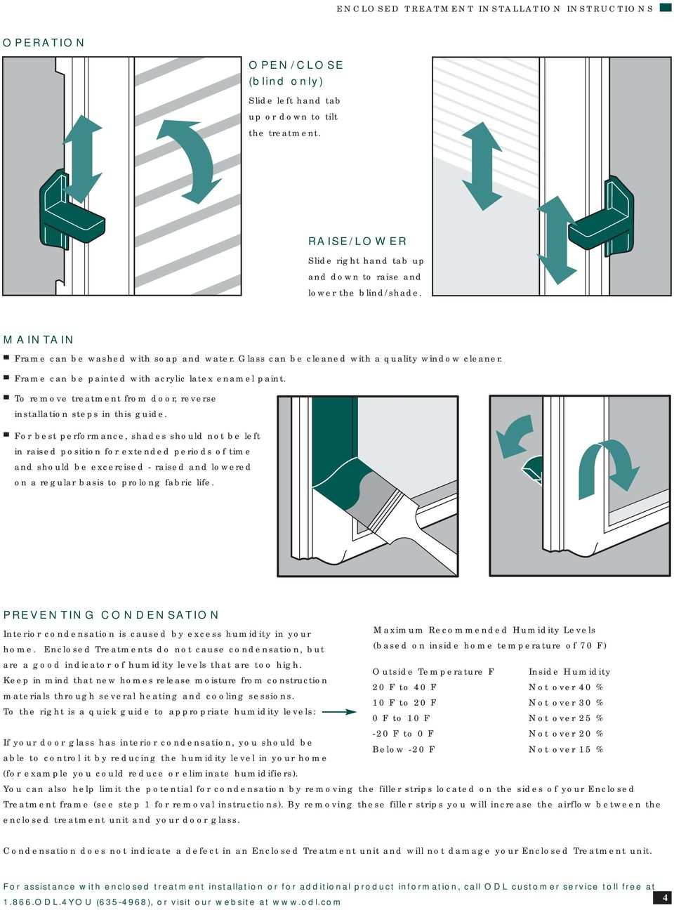 Frame can be painted with acrylic latex enamel paint. To remove treatment from door, reverse installation steps in this guide.