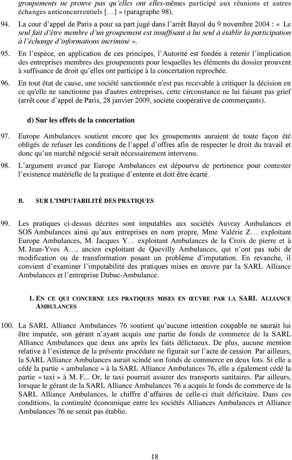 informations incriminé». 95.