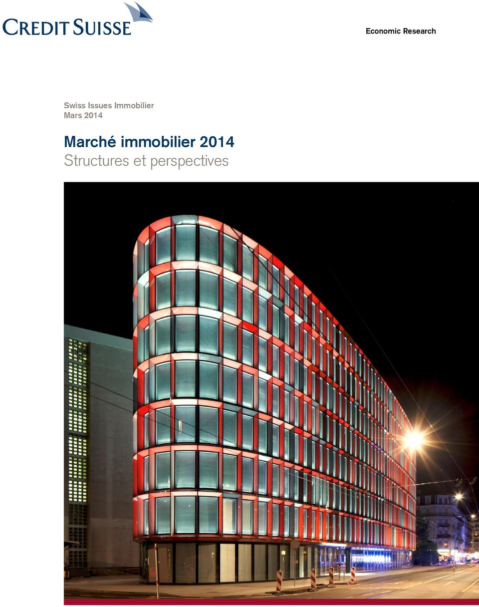 2014 Marché immobilier