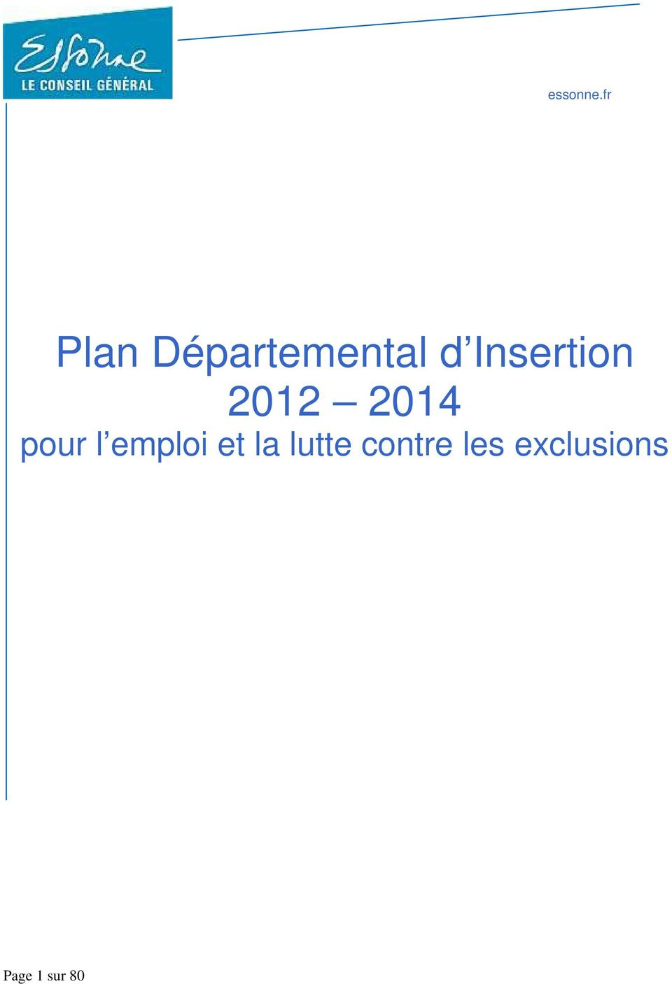 Insertion 2012 2014 pour l