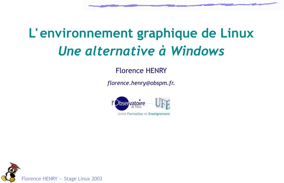 alternative à Windows