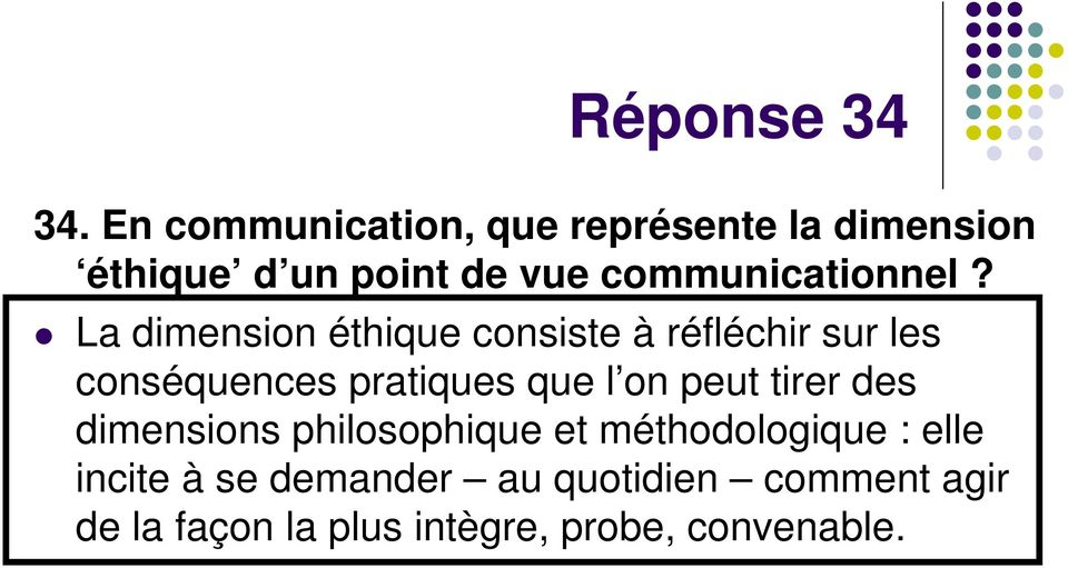 communicationnel?