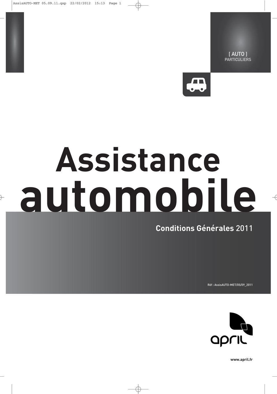 PARTICULIERS Assistance automobile