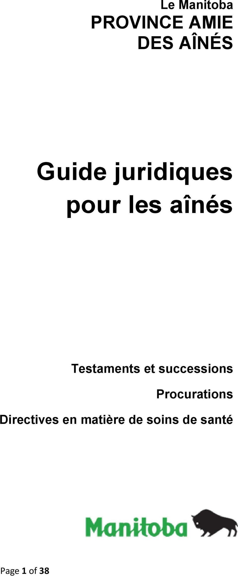 Testaments et successions Procurations