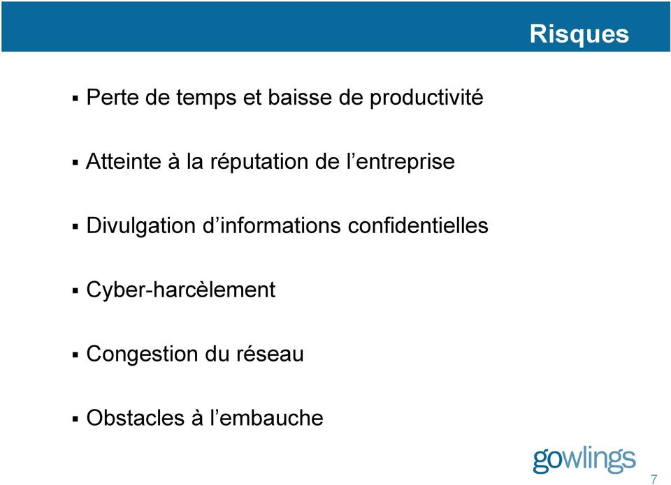 Divulgation d informations confidentielles