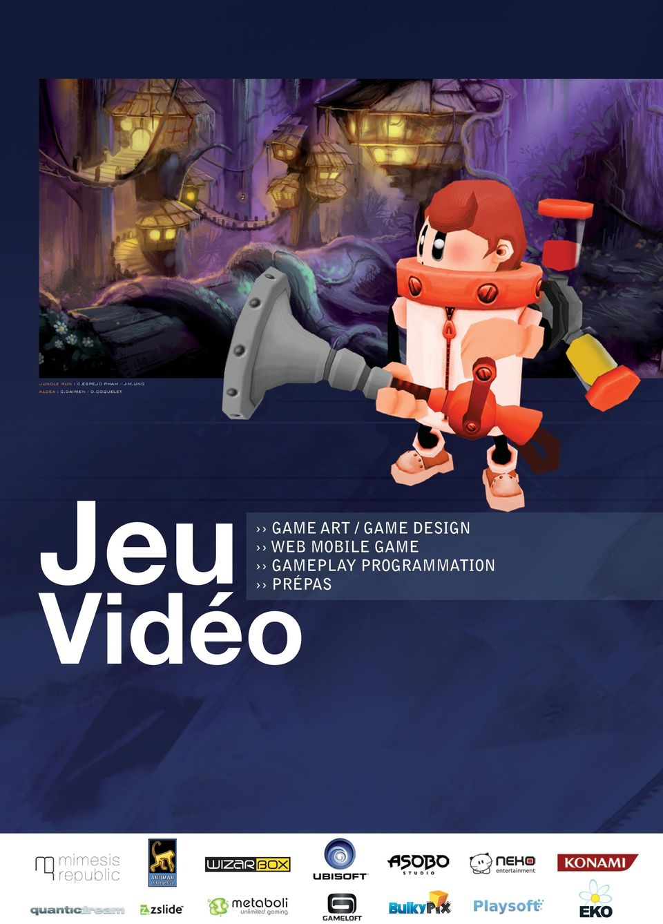COQUELET Jeu GAME ART / GAME DESIGN
