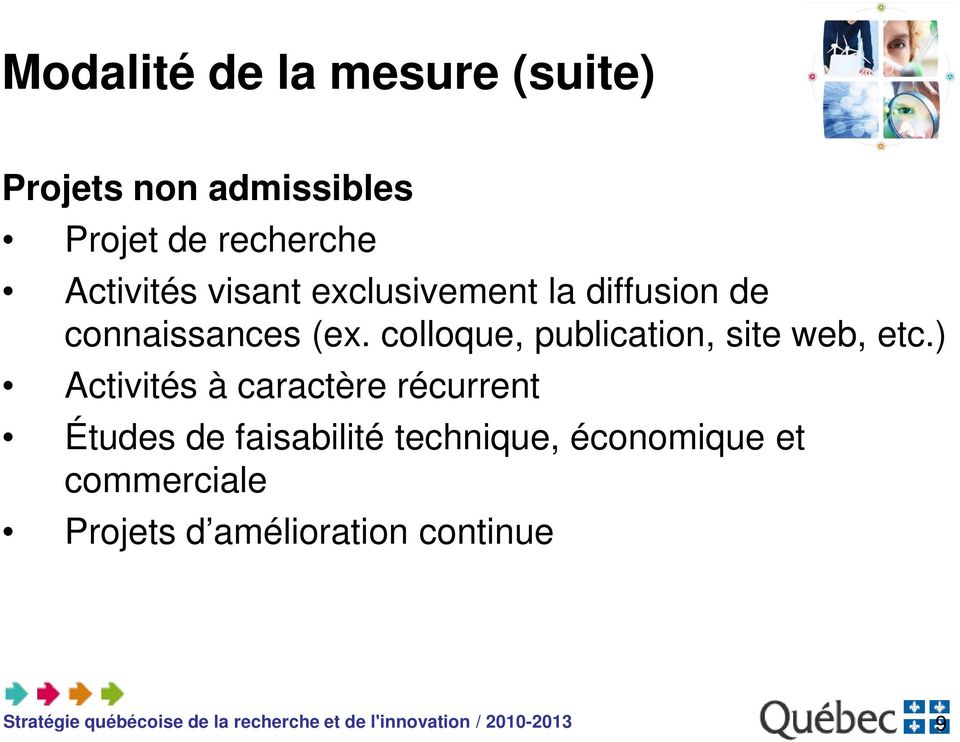 colloque, publication, site web, etc.