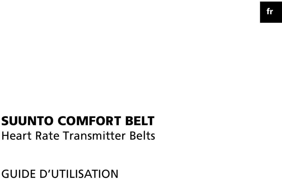 Transmitter Belts