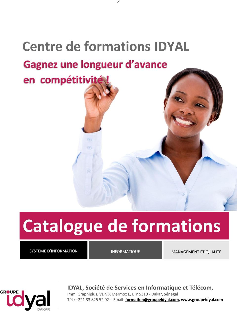 Catalogue de formations SYSTEME D INFORMATION