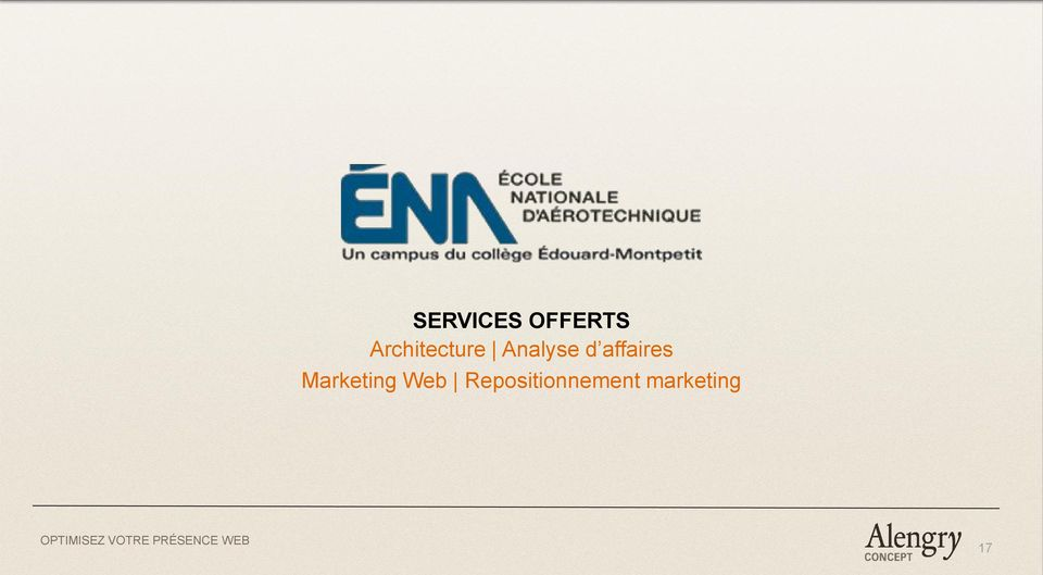 affaires Marketing Web
