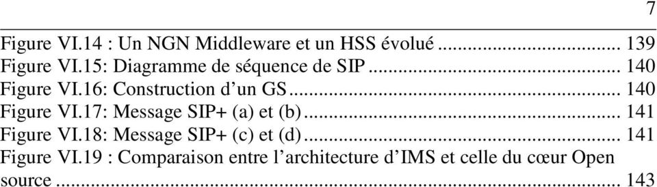 .. 140 Figure VI.17: Message SIP+ (a) et (b)... 141 Figure VI.