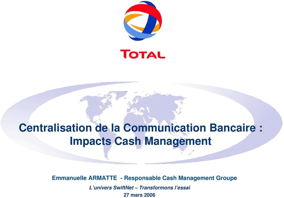- Responsable Cash Management Groupe L
