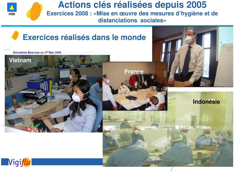 et de distanciations sociales» Exercices