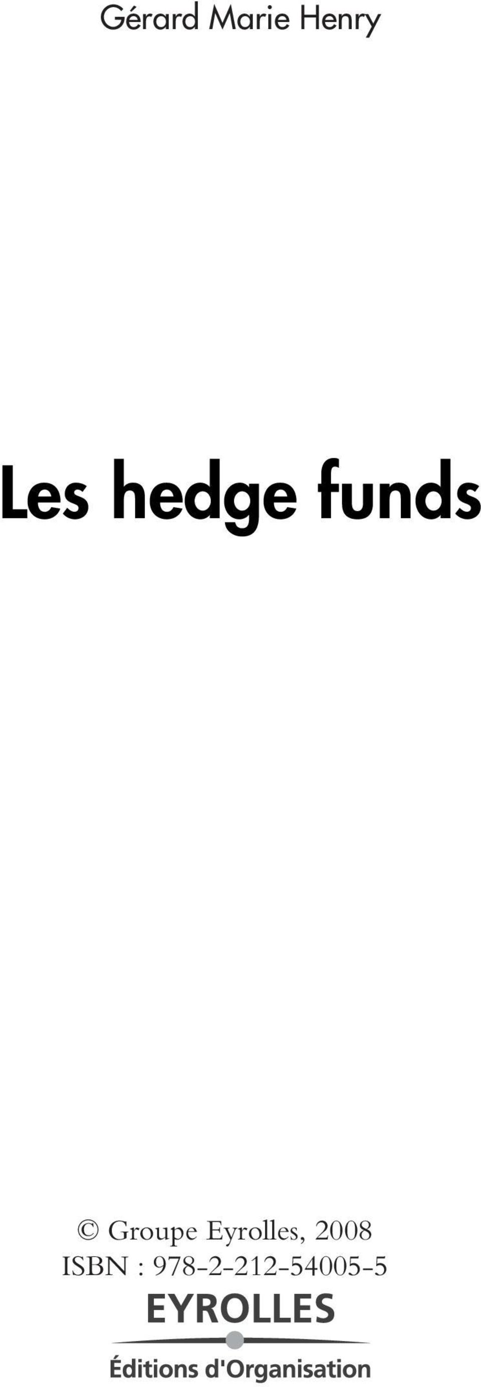 funds, 2008 ISBN