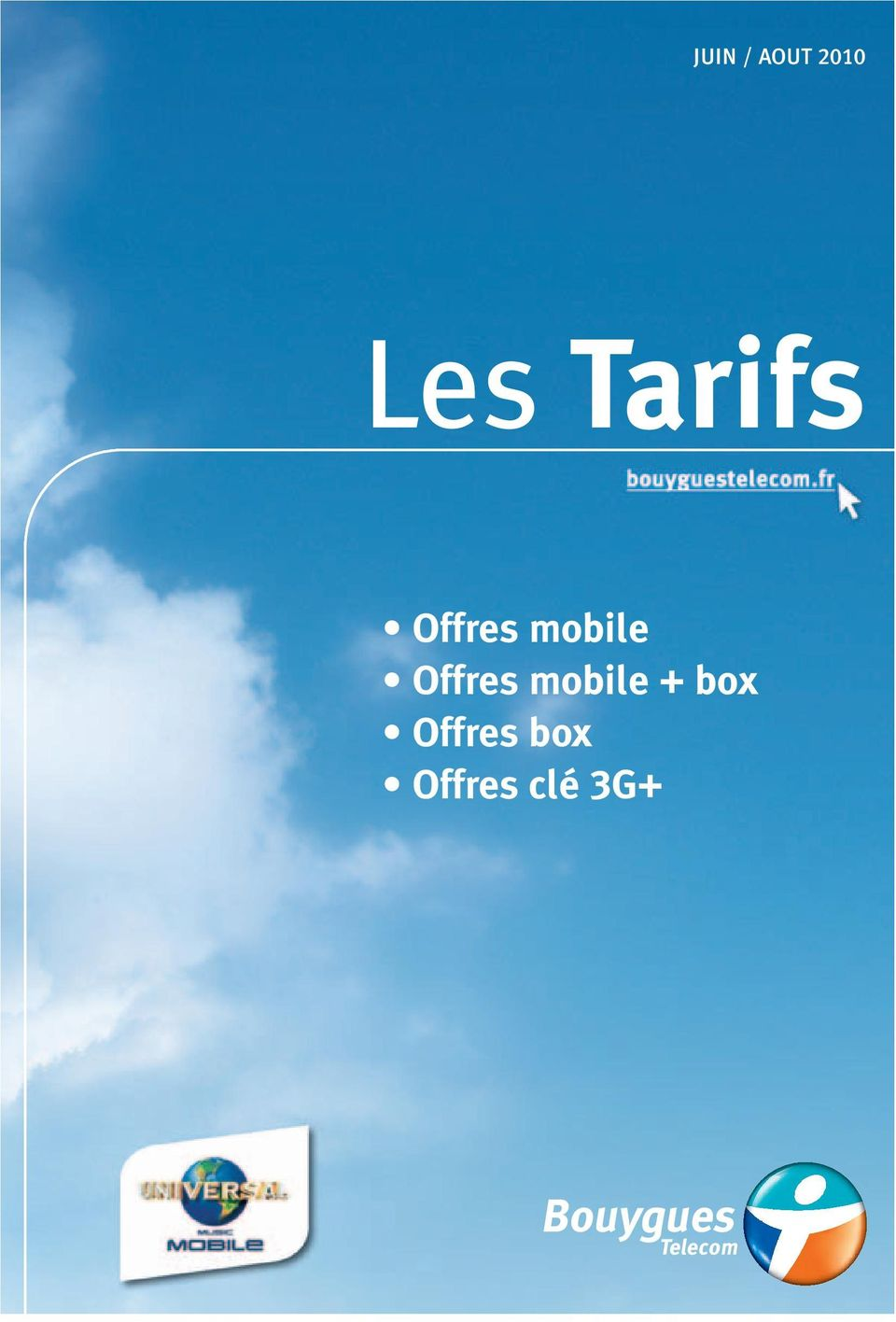Offres mobile box