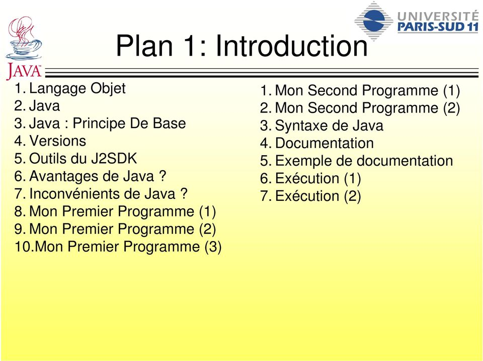 Mon Premier Programme (2) 10.Mon Premier Programme (3) 1. Mon Second Programme (1) 2.