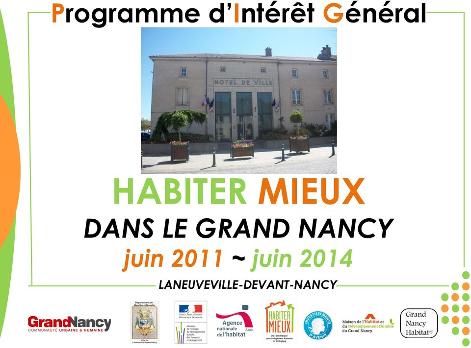 NANCY juin 2011 ~ juin 2014
