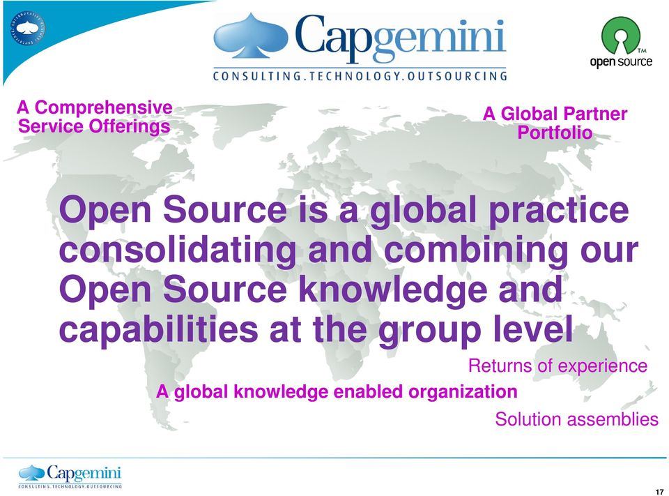 Source knowledge and capabilities at the group level Returns of