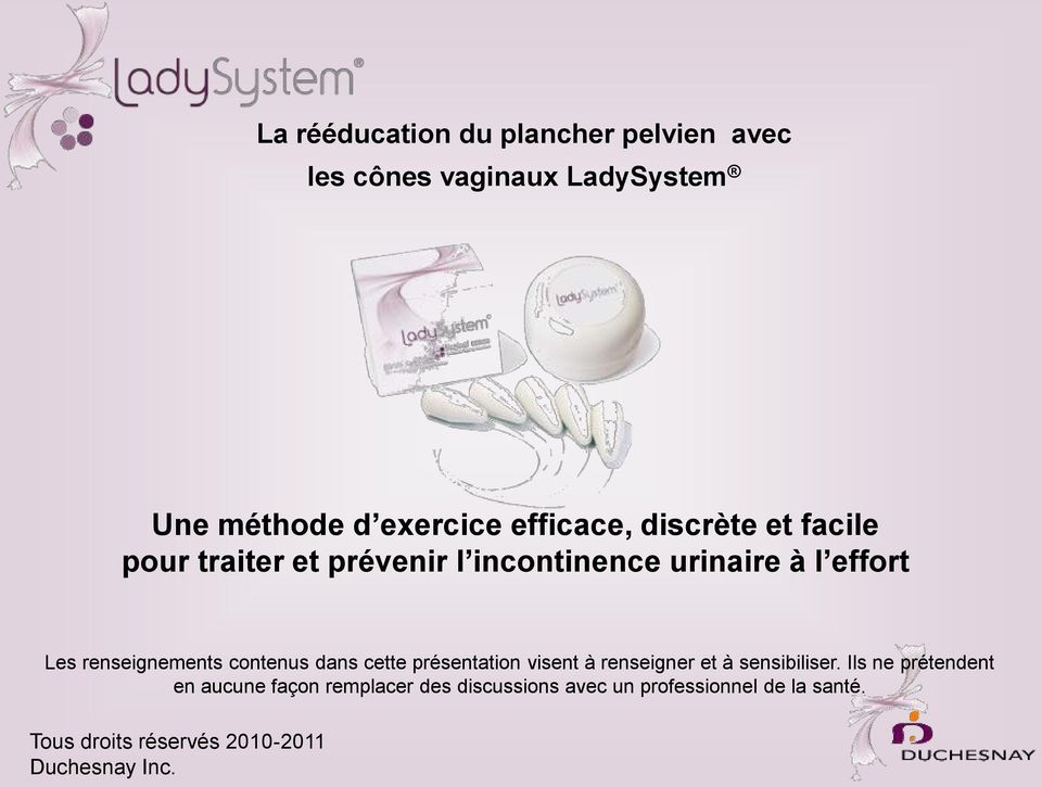 exercices de kegel incontinence