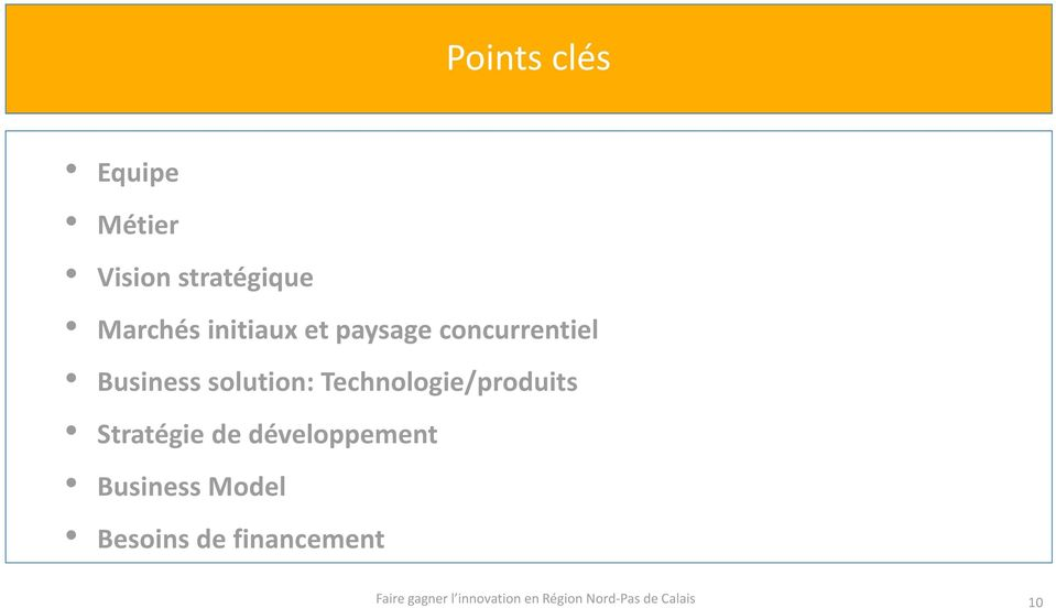 Business solution: Technologie/produits