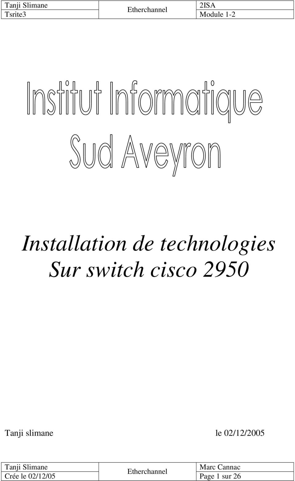 switch cisco 2950