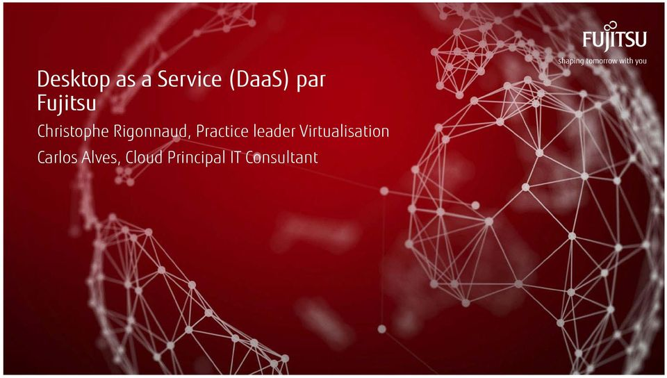 Practice leader Virtualisation