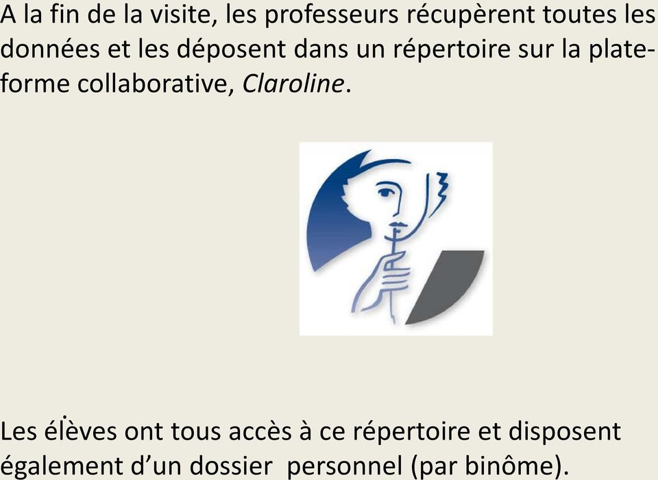 collaborative, Claroline.