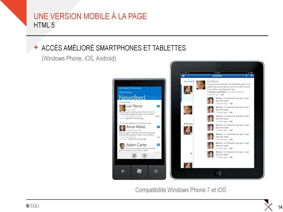 TABLETTES (Windows Phone, ios,